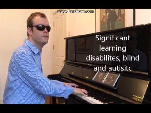 Piano Man - played by Derek Paravicini blind, autistic w/ learning disabilities as a mucial GENIUS