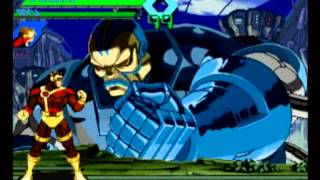 XMEN VS Streetfighter Gameplay Part2. (vhs).wmv