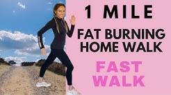 WALK AT HOME | 1 MILE WALK | WALKING WORKOUT | CALORIE BURNING INDOOR WALKING QUARANTINE WORKOUT