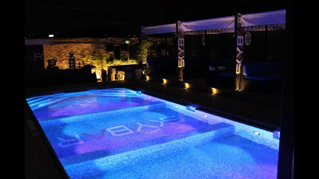 Affordable Pools Inc  Roof Top Fiberglass Pool  YouTube