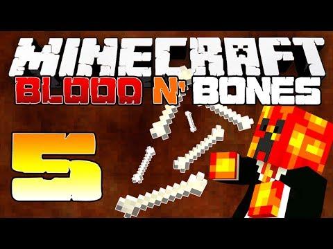 Minecraft FTB: CAVE CRAFT! (Blood N' Bones Modded Survival) - [5] - w/MrWoofless & Vikkstar!