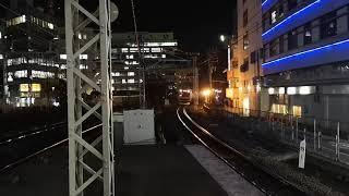 東海道線藤沢駅 E231系15両編成 到着