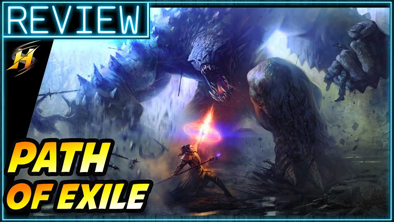 Path Of Exile Game Review Ps4 Gameplay Review Youtube