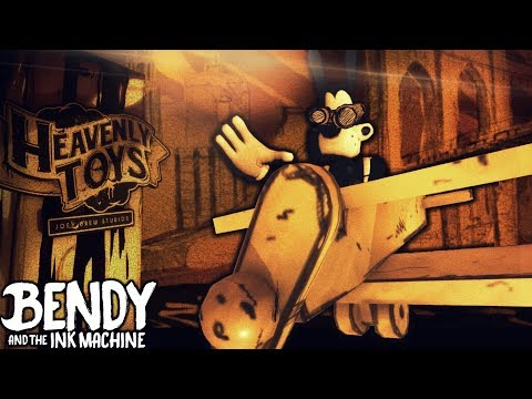 CHAPTER 4 PILOT BORIS BACKSTORY SECRET & HACKING !! | Bendy and the Ink Machine [Chapter 3] Hacks