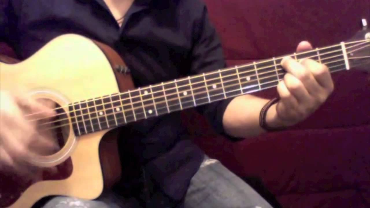 Lady In Red Chris De Burgh Guitar Cover Chords Youtube