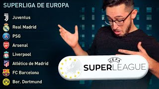 La SUPERLIGA europea de FÚTBOL en FIFA 21 MODO CARRERA!! Episodio 1