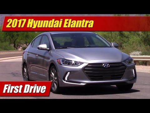 2017 Hyundai Elantra First Drive