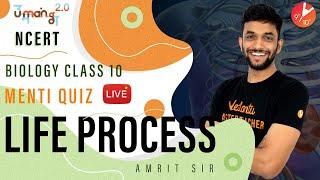 Life Process L5 | Doubt & Menti Quiz | CBSE Class 10 Biology | Science Chapter 6 | NCERT | Vedantu