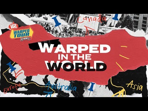 2020 Warped Tour.25 Years Of Warped Tour Ep 7 Warped In The World