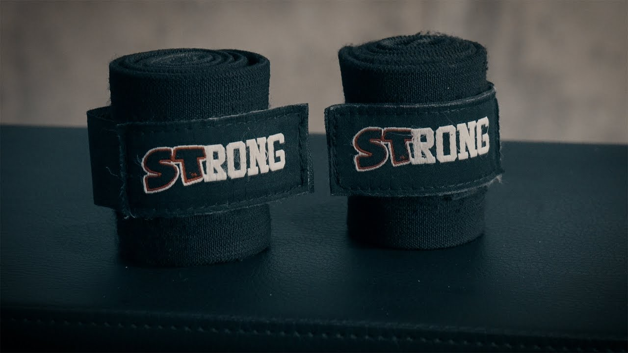 STRONG Wraps from Mark Bell