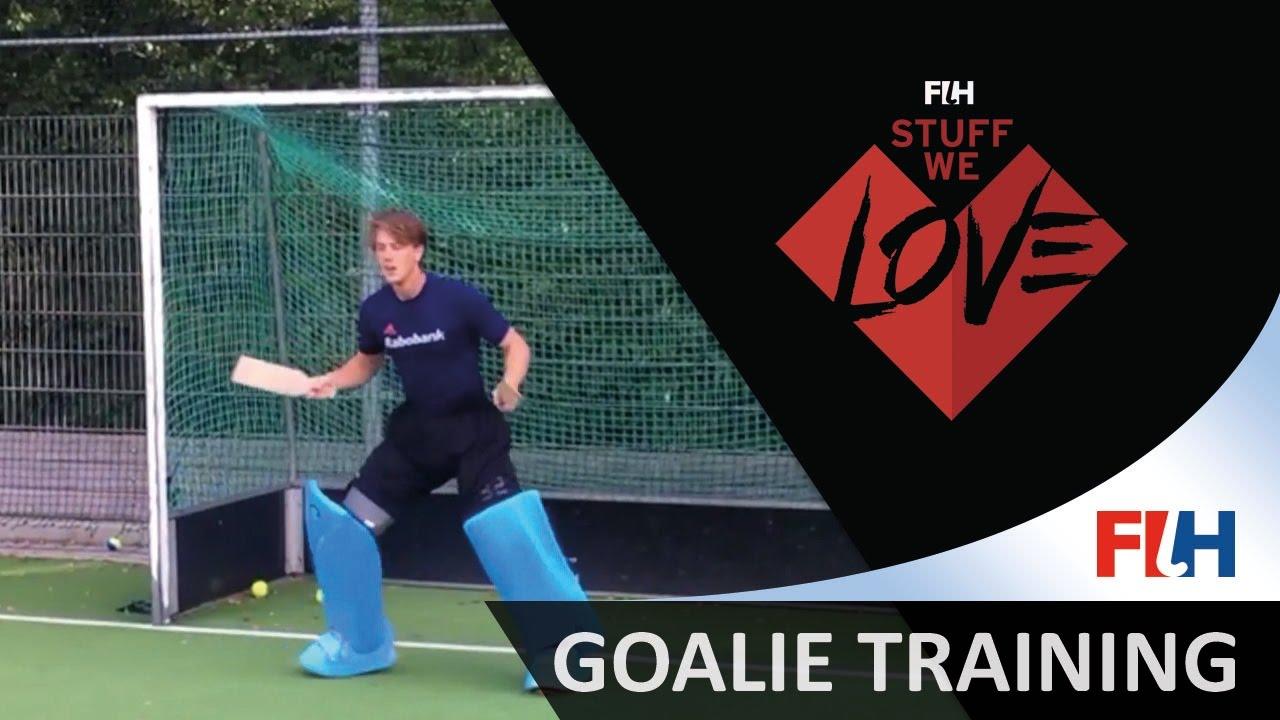 Goalie Training Hockey Stuff We Love Youtube