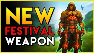 MHW - Brand NEW WEAPON from the Autumn Harvest Festival - Monster Hunter World