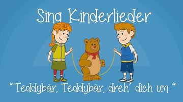 Teddybär, Teddybär, dreh' Dich um - Kinderlieder zum Mitsingen | Sing Kinderlieder