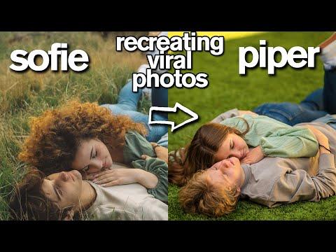 Piper Rockelle Recreates VIRAL CRUSH PHOTOS