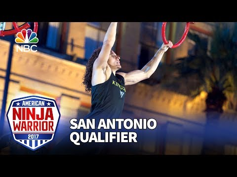 Daniel Gil at the San Antonio Qualifiers - American Ninja Warrior 2017