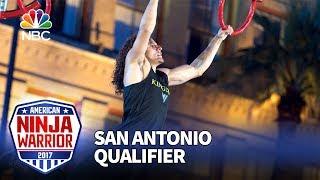 Daniel Gil at the San Antonio Qualifiers - American Ninja Warrior 2017