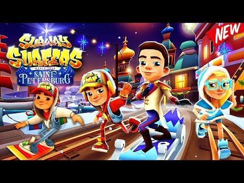 Subway Surfers Saint Petersburg - BEST Gameplay | Games For Children | Videos For Kids