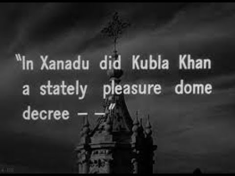 the pleasure dome of xanadu essay Shangdu (xanadu) was visited by the and in the middest thereof a sumpuous house of pleasure, which may be moved from place to place in xanadu did kubla khan a stately pleasure-dome decree: where alph, the sacred river, ran through caverns measureless to man.