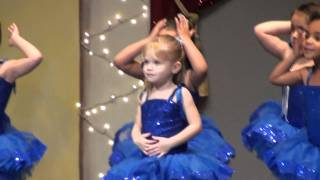 Repeat youtube video Dance Recital:  Feliz Navidad