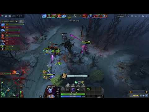 DotA 2 Ability Draft - Queen of Pain (QOP) is an Invisible Pusher!