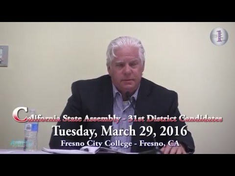 ONME News Presents:  California State Assembly - District 31 Candidates, March 29, 2016