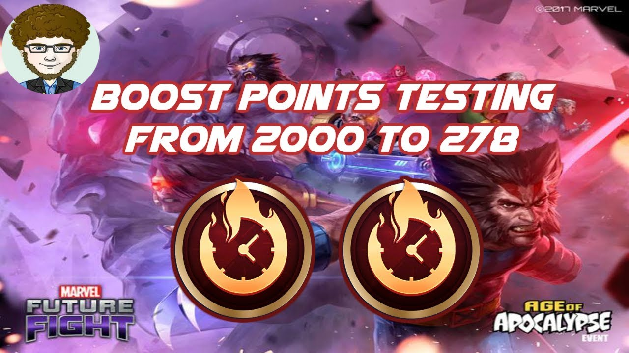 Boost Points Testing From 2000 to 278!!! | Marvel: Future