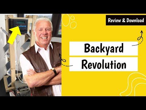 Backyard Revolution Plans PDF Download (Solar Panels)