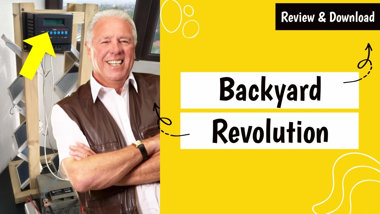 Backyard Revolution Plans PDF Download (Solar Panels ...