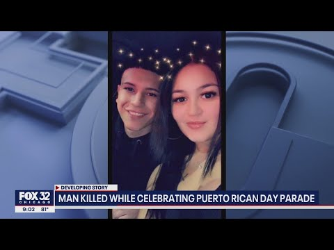 Man killed and wife wounded while celebrating Puerto Rican Day Parade in Chicago