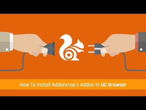 How To Install Addoncrop's Addon In UC Browser