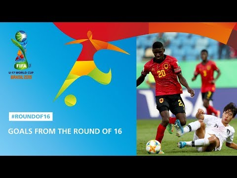 Goal Highlights From The Round Of 16 - FIFA U17 World Cup 2019 ™