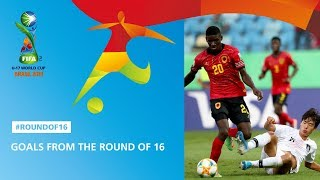 Фото Goal Highlights From The Round Of 16 - Fifa U17 World Cup 2019 ™