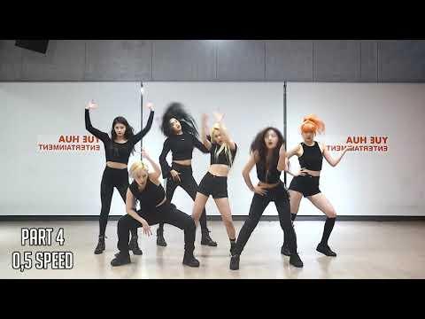 EVERGLOW - DUN DUN DANCE TUTORIAL SLOW MIRRORED