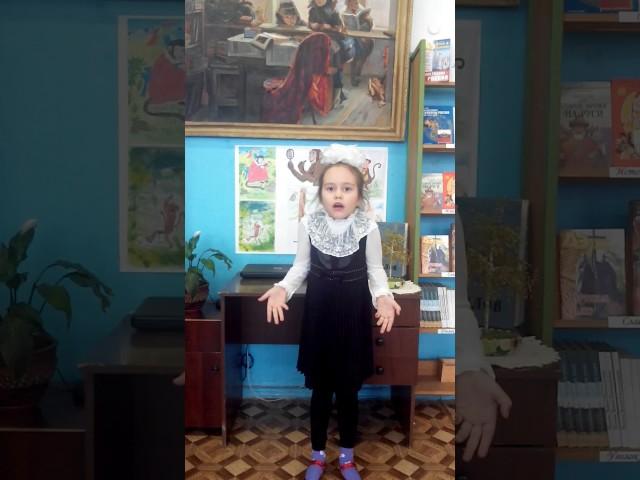 Изображение предпросмотра прочтения – АлександраШайкова читает произведение «Мартышка и очки» И.А.Крылова