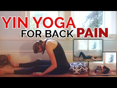 Yin Yoga Sequence for Back Pain | 30-min | Yoga for Lower Back Pain Relief