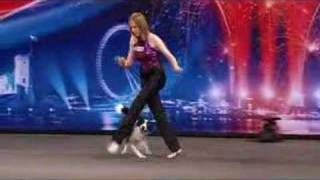 Kate And Gin The Dancing Dog- Britains Got Talent 2008