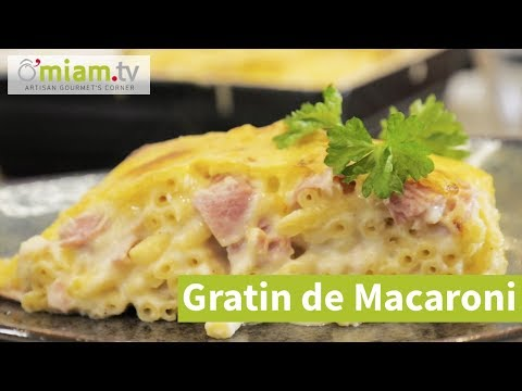 recette-de-gratin-de-macaroni-au-fromage---facile-&-rapide