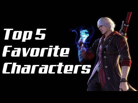 Top 5 Favorite Devil May Cry: Characters
