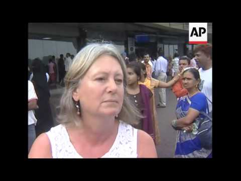 Tourists leaving Mumbai comment on attacks