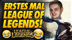 😂💥ERSTES MAL LEAGUE OF LEGENDS! | Absolut lostes 5er Ranked Team!
