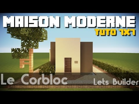 Download video minecraft tuto maison moderne 7x7 for Maison moderne 7x7