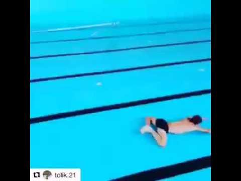 Funny Video 016 - Water-less Swimming..LOL thumbnail