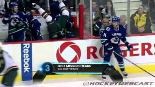 Top 5 Уходов от силовых приёмов  NHL Checks HD(Силовые приёмы в хоккее занимают отдельное место среди пристрастий болельщиков. Даже один мощный удар..., 2014-11-08T19:07:39.000Z)