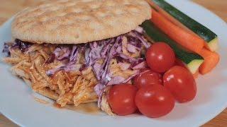 #LightenUp | Pulled Chicken Sandwich