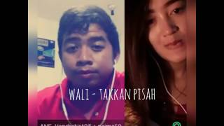 Wali - Takkan Pisah (Official Video Clip Smule) ~ hendra nst ft Naima