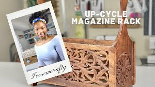 DIY Up-Cycle Magazine Rack (Ea…