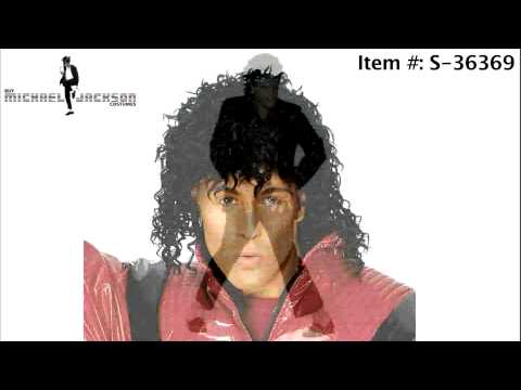 Michael Jackson Halloween Costumes, Wigs, and Famous Glove