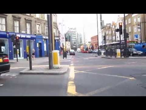 Cycling in London : Hackney Rd _ Shoreditch St _ Norton Foldgate