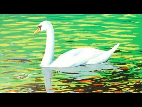 Art Lesson: How to Paint a Beautiful Swan Using Acrylic Paint