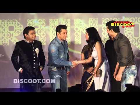 Salman Khan, A. R. Rahman at Kapil Sibbal's Album Launch of Raunaq
